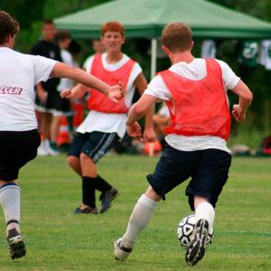 Football at Apple Orchard